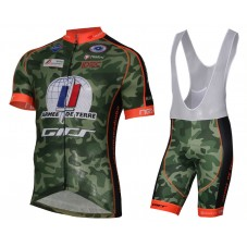 2017 Armee De Terre Camouflage Cycling Jersey And Bib Shorts Kit