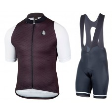 2017 Etxeondo NEO Black-White Cycling Jersey And Bib Shorts Kit