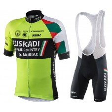 2017 Euskadi Cycling Jersey And Bib Shorts Kit
