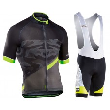 2017 Northwave Blade 2.0 Camouflage Black Cycling Jersey And Bib Shorts Kit