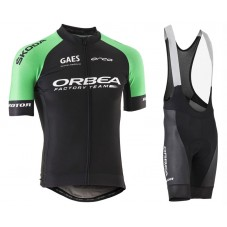 2017 Orbea Factory Team Cycling Jersey And Bib Shorts Kit