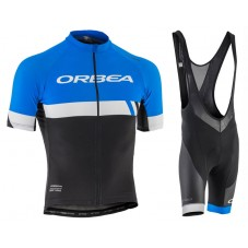 2017 Orbea Club Blue Cycling Jersey And Bib Shorts Kit