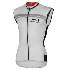 2016 Castelli Aero Race 4.1 White Cycle Vest