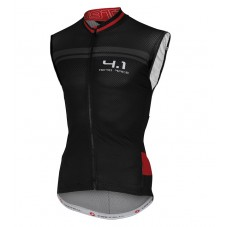 2016 Castelli Aero Race 4.1 Black-Red Cycle Vest