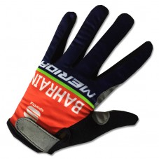 2017 Bahrain-Merida Thermal Long Gloves