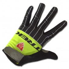 2017 Trek Segafredo Yellow Thermal Long Gloves