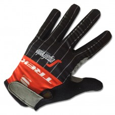2017 Trek Segafredo Red Thermal Long Gloves