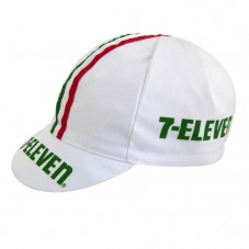 7-Eleven White Cycling Cap
