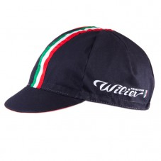 Wilier Italian Black Cycling Cap