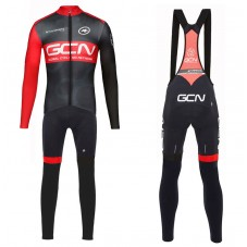 2017 GCN Team Pro Long Sleeve Cycling Jersey And Bib Pants Kit