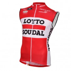 2016 Lotto Soudal Red Cycle Vest
