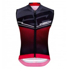 2016 Santini Interactive 3.0 Black-Red Cycle Vest