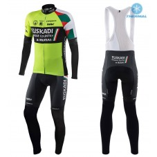 2017 Euskadi Kalas  Thermal Cycling Jersey And Bib Pants Kit
