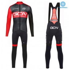 2017 GCN Team Pro Thermal Cycling Jersey And Bib Pants Kit