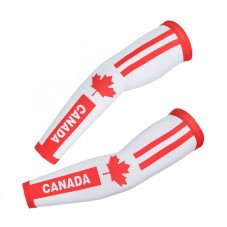 2017 Canada Country Team Cycling Arm Warmer