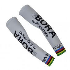2017 Bora World Champion White Cycling Arm Warmer