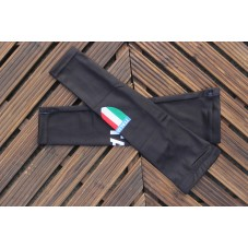 2017 Italian Black Cycling Arm Warmer