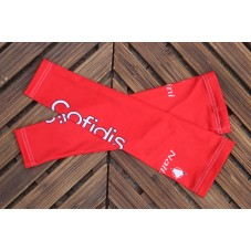 2016 Cofidis Red Cycling Arm Warmer