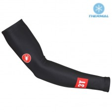 2017 Castelli 3T Black Thermal Cycling Arm Warmer