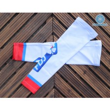 2017 Team FDJ White Thermal Cycling Arm Warmer