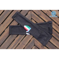 2017 Italian Black Thermal Cycling Arm Warmer