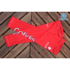 2016 Cofidis Red Thermal Cycling Arm Warmer