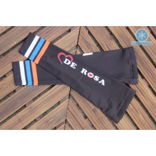 2017 De-Rosa Black  Thermal Cycling Arm Warmer