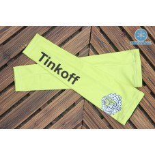 2016 Tinkoff Saxo Bank Yellow Thermal Cycling Arm Warmer