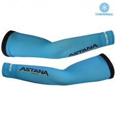 2017 Astana Blue Thermal Cycling Arm Warmer