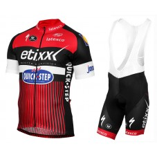 2016 Etixx-Quick Step TDF Edition Red Cycling Jersey And Bib Shorts Set