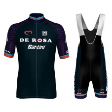2018 De-Rosa Team Cycling Jersey And Bib Shorts Kit