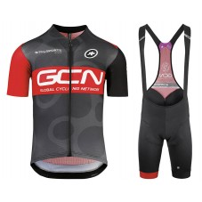 2018 Team GCN Cycling Jersey And Bib Shorts Kit
