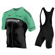 2018 Orbea Factroy Team Green Cycling Jersey And Bib Shorts Kit