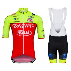 2018 Wilier Triestina Selle Italia Cycling Jersey And Bib Shorts Kit