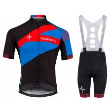 2018 Wilier Spark Blue-Red Cycling Jersey And Bib Shorts Kit