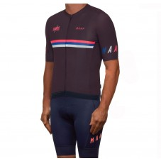 2019 MAAP Nationals Mulberry Cycling Jersey And Bib Shorts Kit