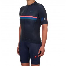 2019 MAAP Nationals Navy Women's Cycling Jersey And Bib Shorts Kit