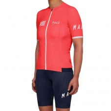 2019 MAAP Prime Coral Women's Cycling Jersey And Bib Shorts Kit