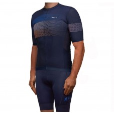 2019 MAAP Aether Navy Cycling Jersey And Bib Shorts Kit