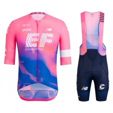 2019 Rapha EF Education Pink Cycling Jersey And Bib Shorts Kit
