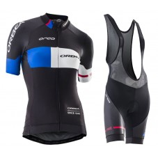 2016 Orbea Team Pro Black-Blue Women  Cycling Jersey And Bib Shorts Set