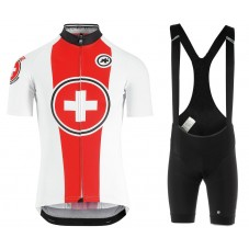 2019 ASOS Swisse Red Cycling Jersey And Bib Shorts Kit
