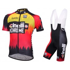 2016 Cinelli Chrome Cycling Jersey And Bib Shorts Set