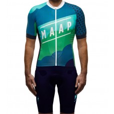 2016 Maap Clouds Race Cycling Jersey And Bib Shorts Set
