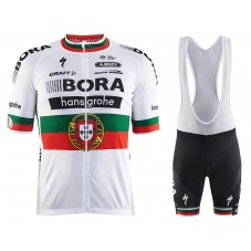 2017 Bora Hansgrohe Portuguese Champion Cycling Jersey And Bib Shorts Set