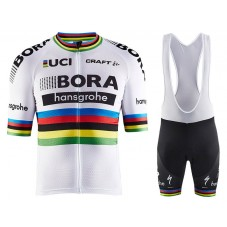 2017 Bora Hansgrohe World Champion Cycling Jersey And Bib Shorts Set