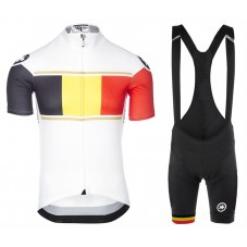 2017 Asos Belgium Country Team Cycling Jersey And Bib Shorts Set