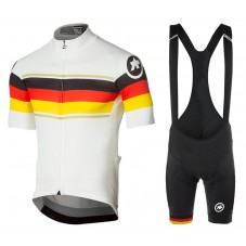 2017 Asos Germany Country Team Cycling Jersey And Bib Shorts Set