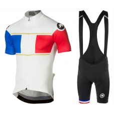 2017 Asos France Country Team Cycling Jersey And Bib Shorts Set