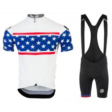 2017 Asos United States Country Team Cycling Jersey And Bib Shorts Set
